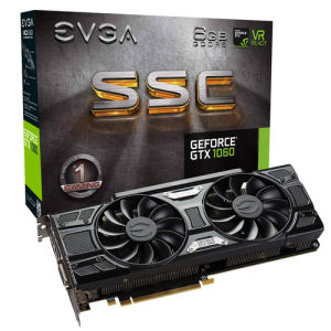 Evga GeForce GTX 1060 SSC Gaming ACX 3.0 6GB
