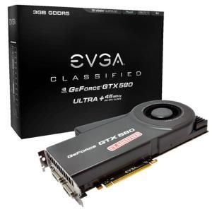EVGA GeForce GTX 580 Classified Ultra 3GB