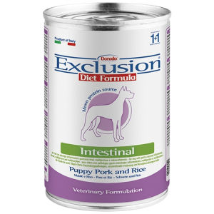 Exclusion Diet Intestinal Puppy Maiale e Riso - Umido