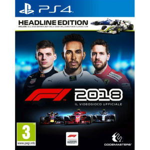 Codemasters F1 2018 Headline Edition