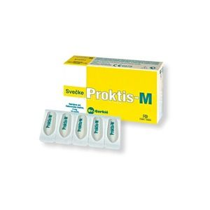 Farma-Derma Proktis-M Supposte