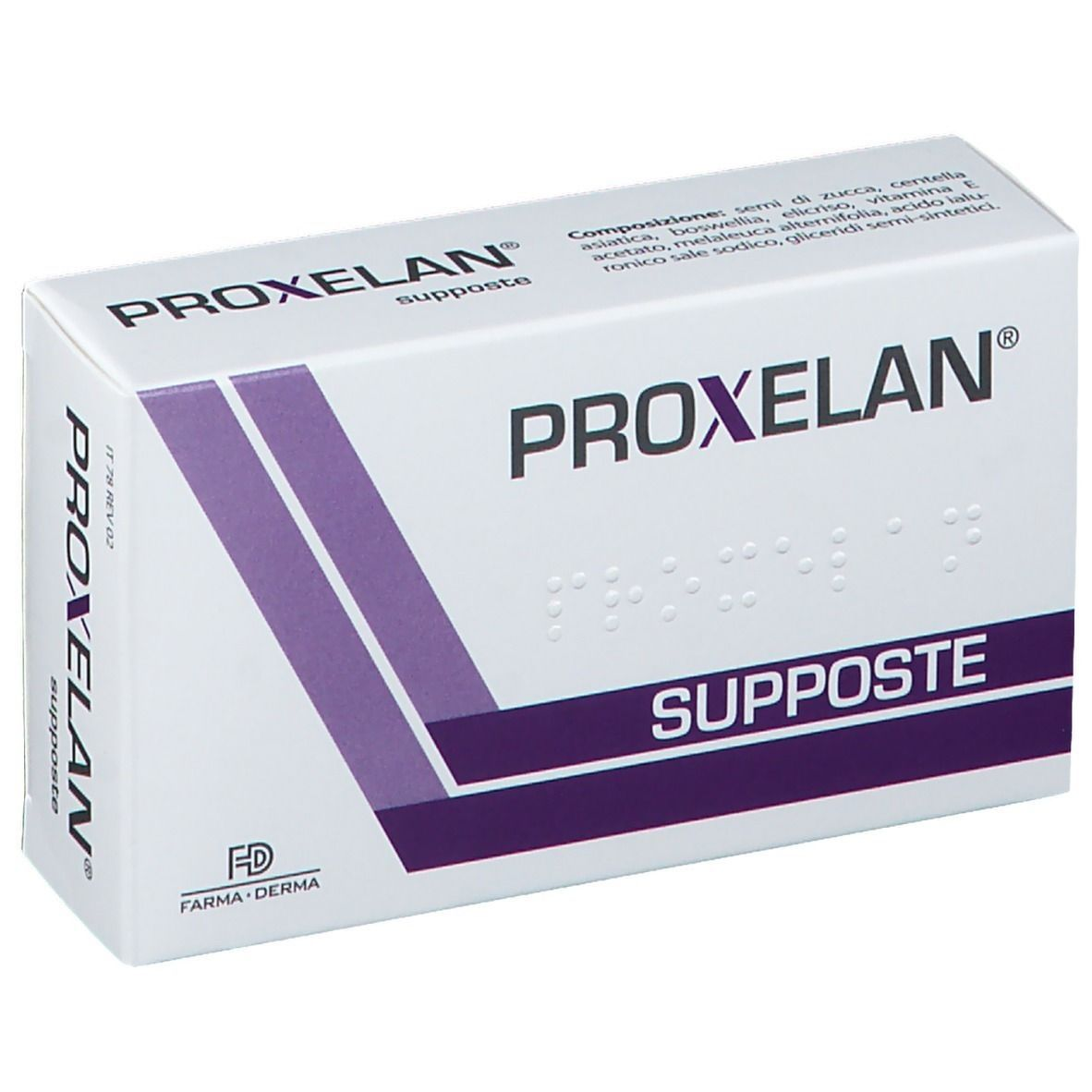 Farma-Derma Proxelan Supposte