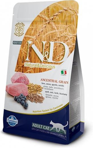 Farmina N&D Low Grain Cat Adult (Agnello) - secco