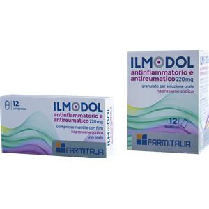 Farmitalia Ilmodol antinfiammatorio antireumatico 12 compresse 220mg