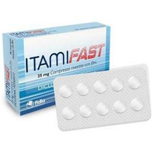 Fidia Itamifast 25mg 10 compresse rivestite