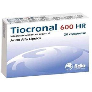Fidia Tiocronal 600 HR 20 compresse