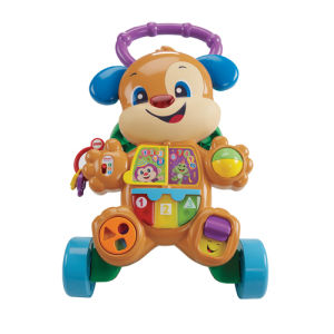 Fisher-Price Cagnolino Primi Passi Ridi&Impara