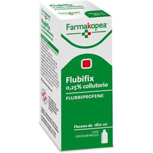 Farmakopea Flubifix colluttorio 160ml 2,5mg/ml