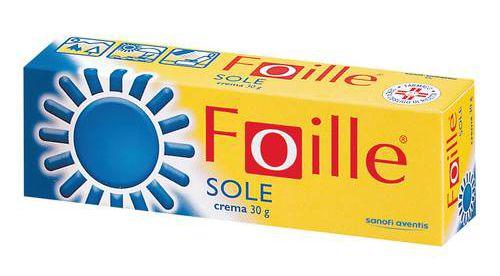 Sanofi Foille sole crema 30g