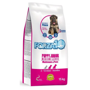 Forza10 Maintenance Puppy & Junior Medium/Large (Pesce) - secco