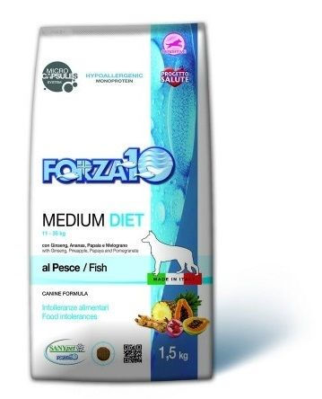 forza10 medium diet pesce