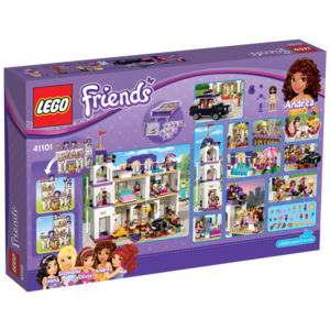 Lego Friends 41101 Il Grand Hotel di Heartlake