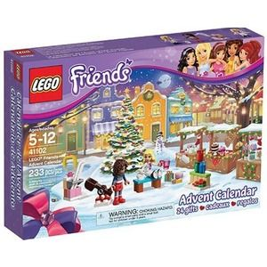Lego Friends 41102 Calendario dell'Avvento