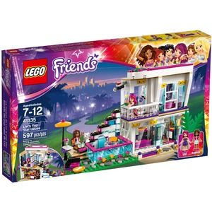 Lego Friends 41135 La Casa della Pop Star Livi