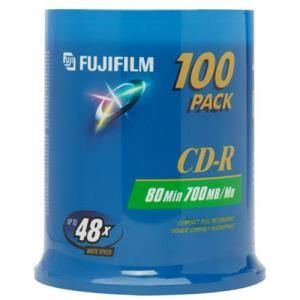 Fujifilm CD-R 80 Min. 48x (100 pcs cakebox)