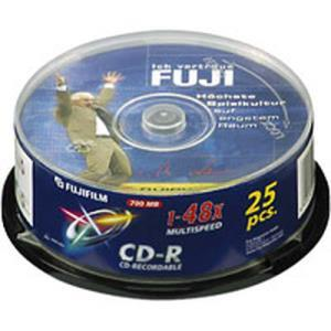 Fujifilm CD-R 80 Min. 48x (25 pcs cakebox)