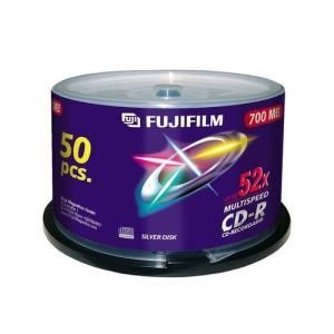 Fujifilm CD-R 80 Min. 52x (50 pcs cakebox)