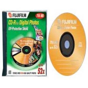 Fujifilm CD-R 80 Min. 52x for Photo