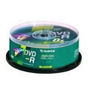 Fujifilm DVD-R 4,7 GB 16x (25 pcs cakebox) Printable