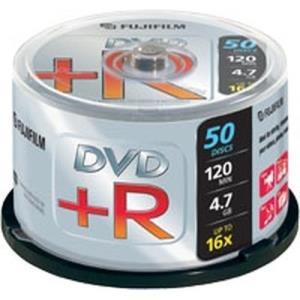 Fujifilm DVD+R 4.7 GB 16x (50 pcs cakebox)