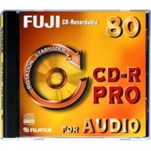 Fujifilm Pro for Audio CD-R 80 Min. (10 pcs)