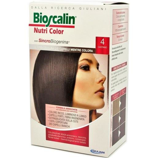 Giuliani Bioscalin Nutri Color 4 Castano