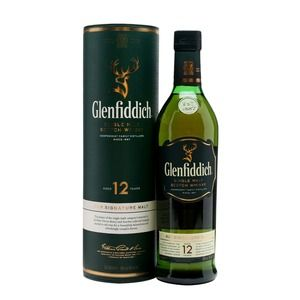 Glenfiddich Scotch 12 years old
