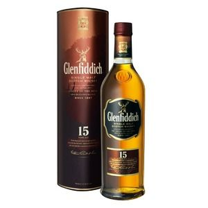 Glenfiddich Scotch 15 years old