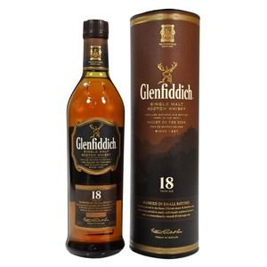 Glenfiddich Scotch 18 years old