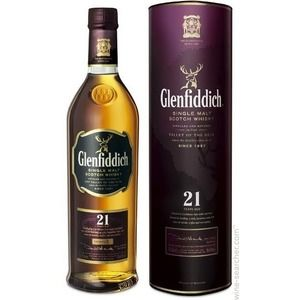 Glenfiddich Scotch 21 years old