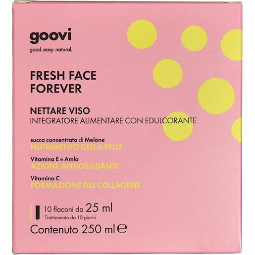 Goovi Fresh Face Forever Nettare Viso 10flaconi