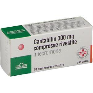 Grunenthal Cantabilin 40 compresse rivestite 300mg