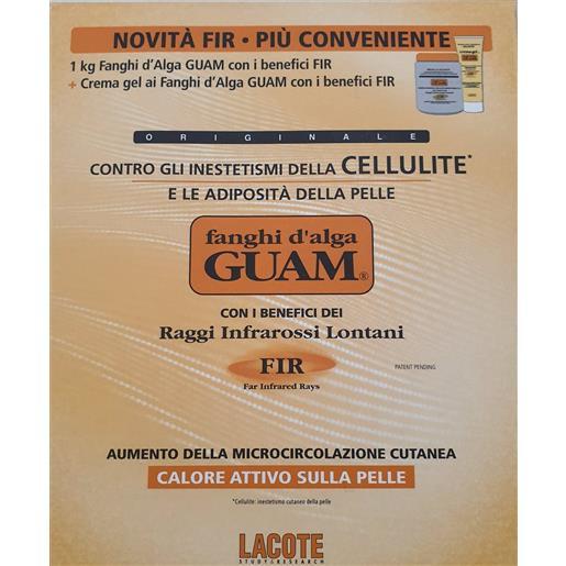 Guam Fanghi d'Alga Fir 1kg + Gel Fanghi d'Alga Crema 250ml