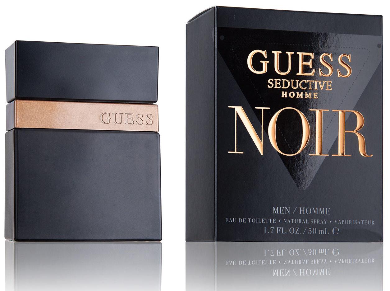 GUESS Seductive Homme Noir Eau de Toilette Parfimo.it