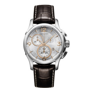 Hamilton jazzmaster chrono quartz h32612555