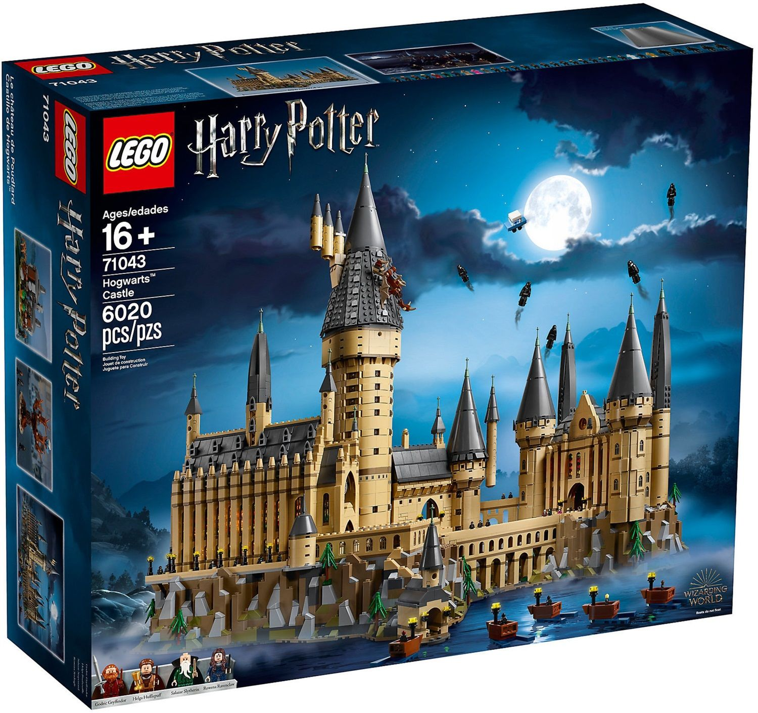 Lego Harry Potter 71043 Castello di Hogwarts