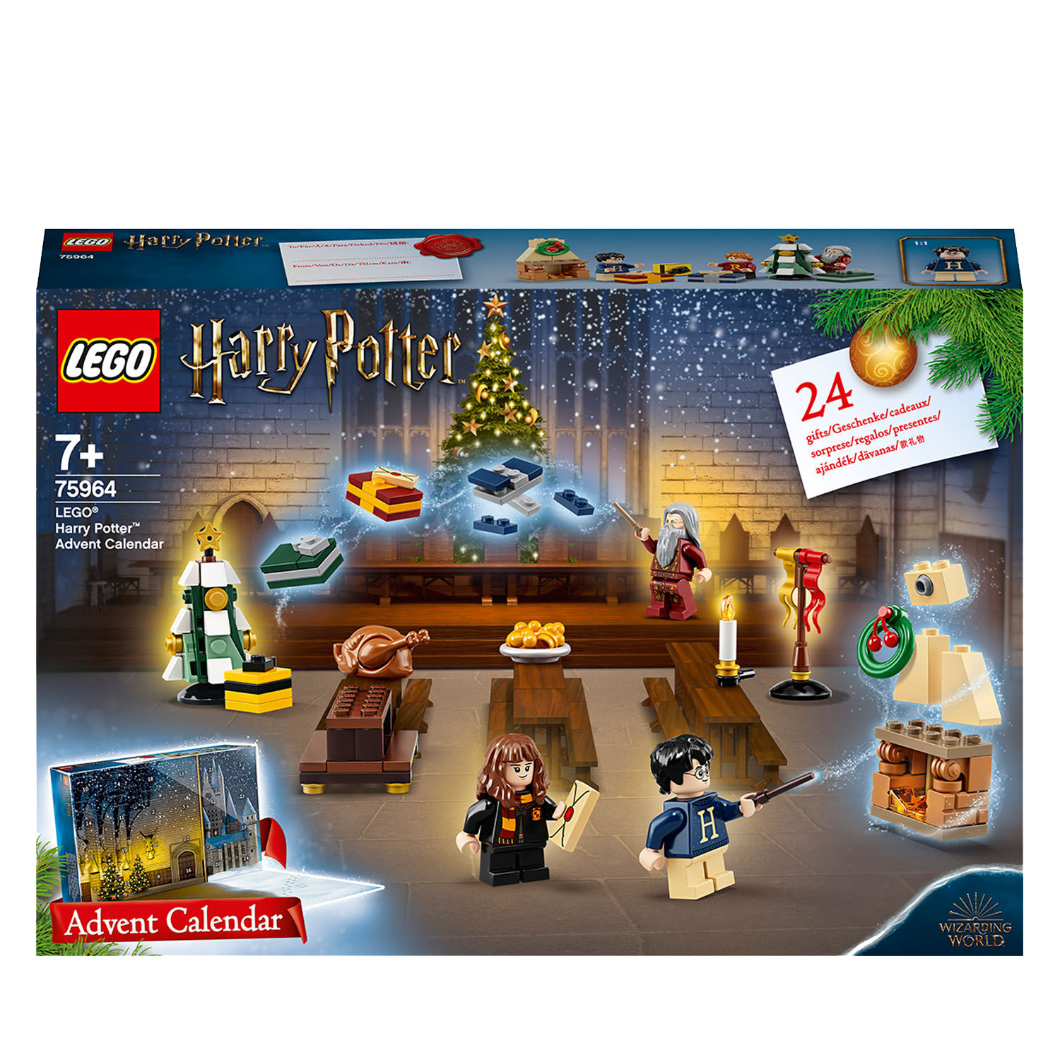 Lego Harry Potter 75964 Calendario dell'Avvento