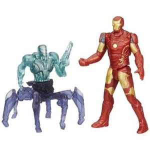 Hasbro Avengers Age of Ultron Iron Man Mark 43 vs. Sub-Ultron 001