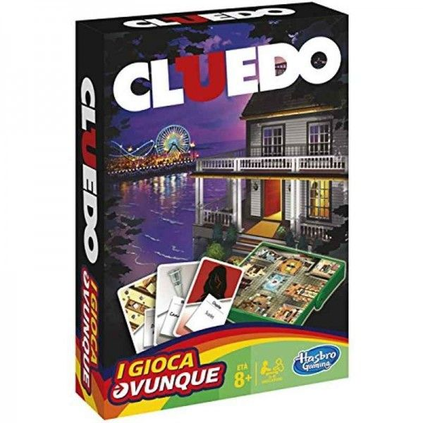 Hasbro Cluedo Travel