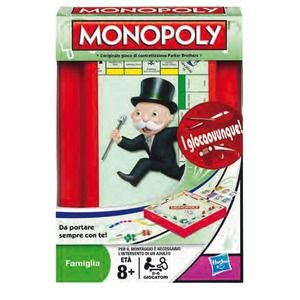 Hasbro Monopoly Travel