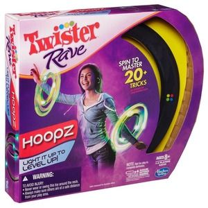 Hasbro Twister Rave Hoopz