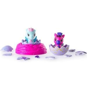 Hatchimals CollEGGtibles 2 uova + nido