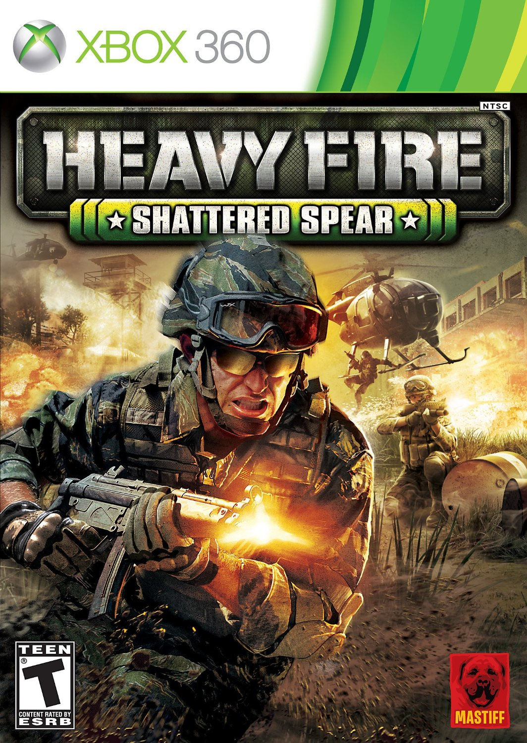 Mastiff Heavy Fire: Shattered Spear