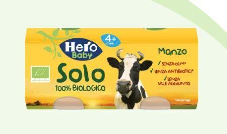 Hero Solo omogeneizzato manzo 2x80g