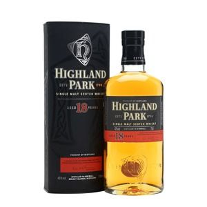 Highland Park Single Malt Scotch Whisky 18 anni