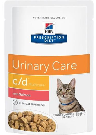 Hill's Prescription Diet C/D Urinary Care Multicare Feline (Salmone)