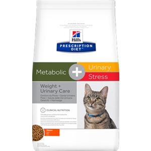 Hill's Prescription Diet Feline Metabolic + Urinary Stress - secco
