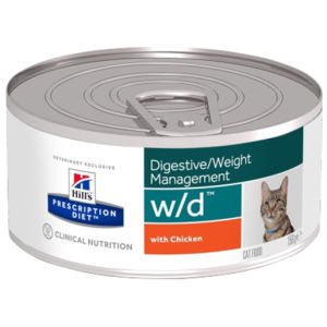Hill's Prescription Diet Feline W/D - umido