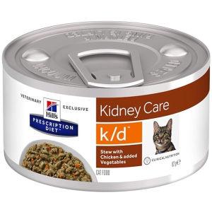 Hill's Prescription Diet k/d Kidney Care per gatto con Pollo - umido