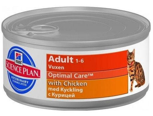 Hill's Science Plan Adult Optimal Care con Pollo - umido 85g